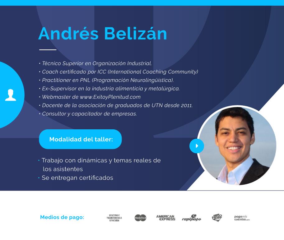 Nuestro destacado orador: Andrés Belizan