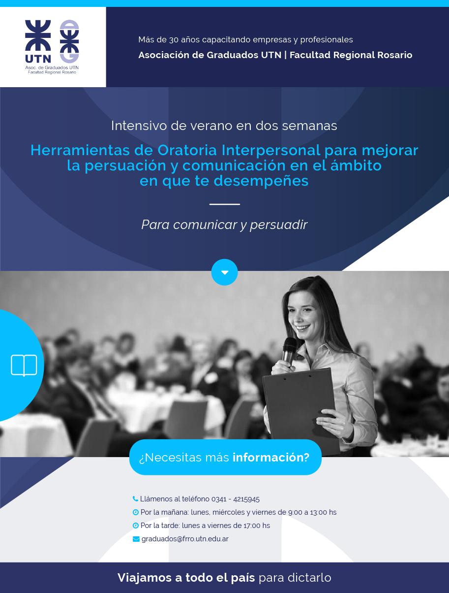 Herramientas de Oratoria Interpersonal para mejorar la persuación y comunicación en el ámbito en que te desempeñes