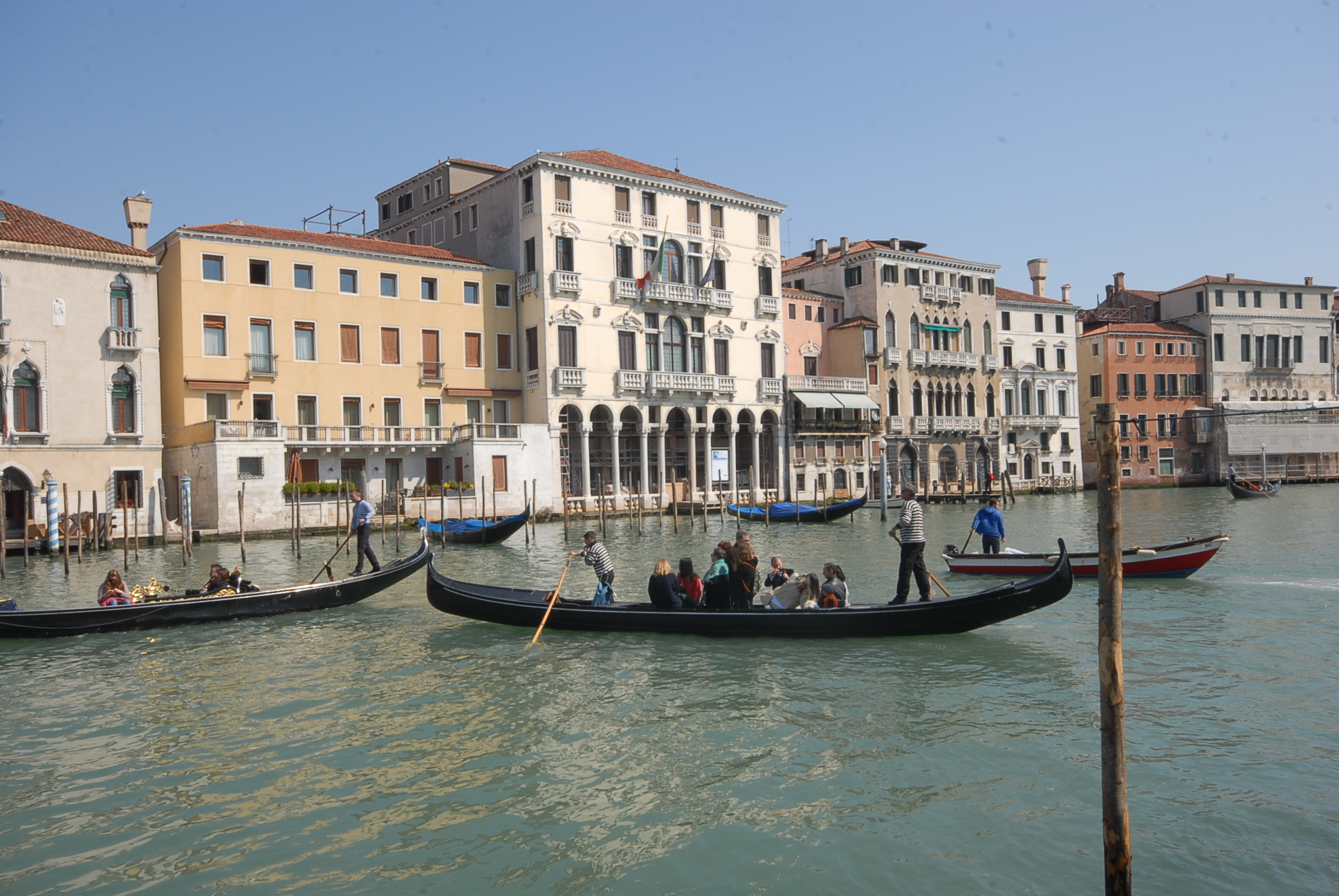 Crossing on a ferry