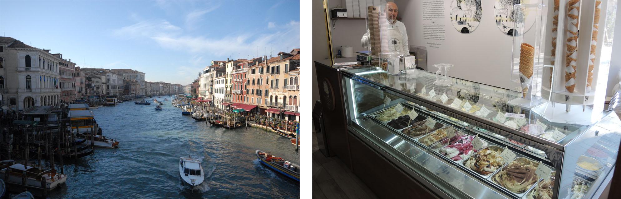 Gran Canal – Ice cream parlour
