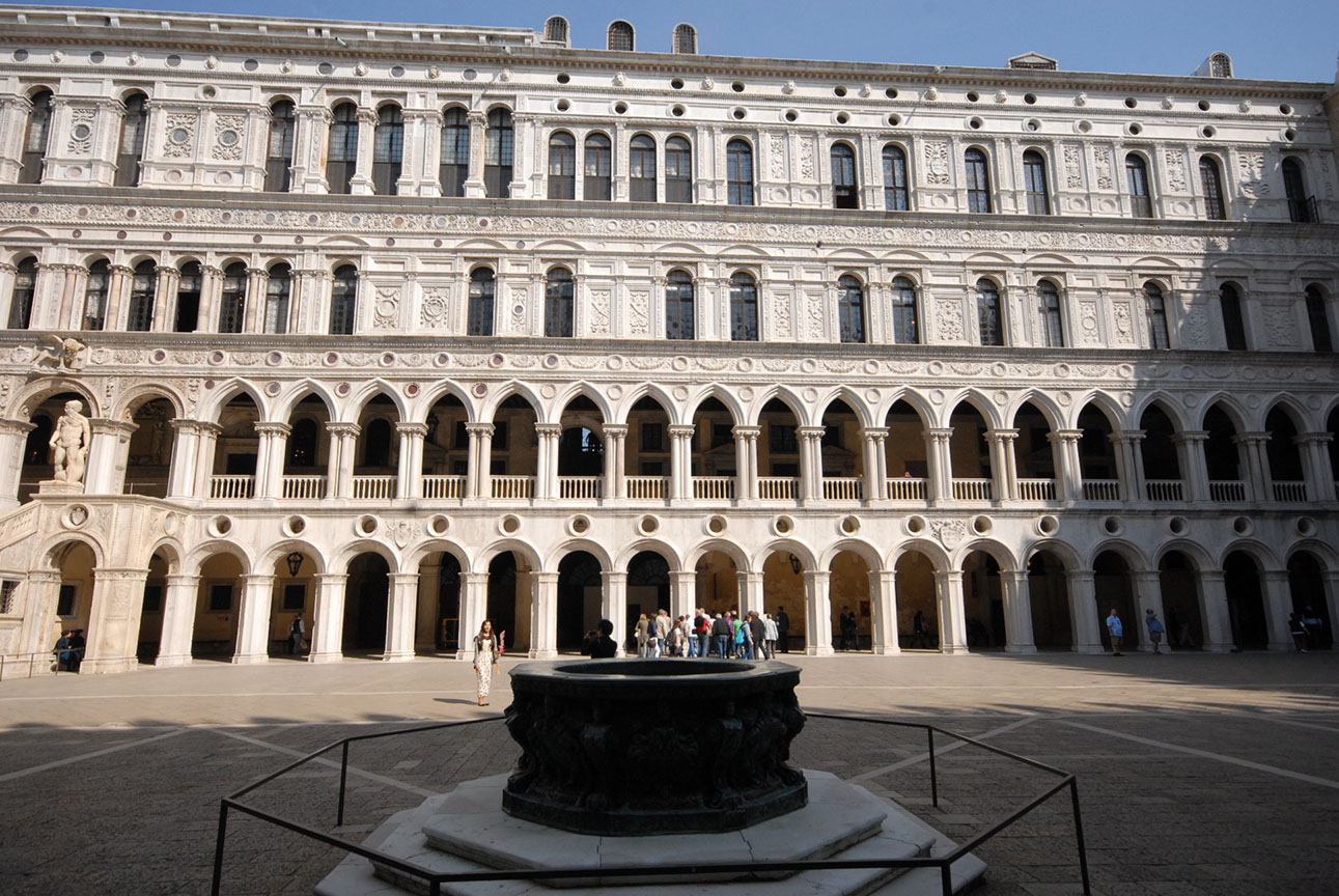 Courtyard in the Ducal Palace
