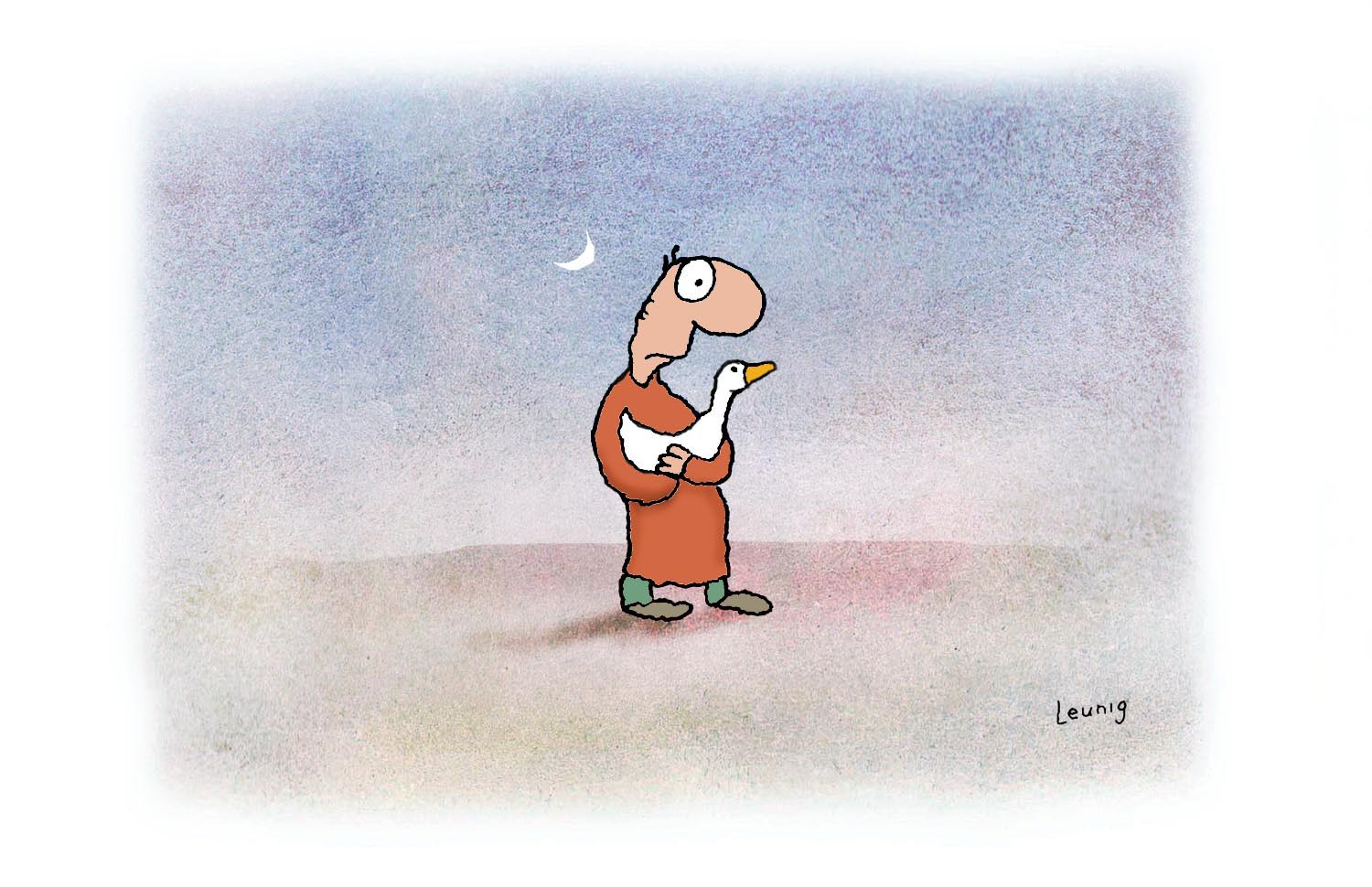Leunig Self Portrait