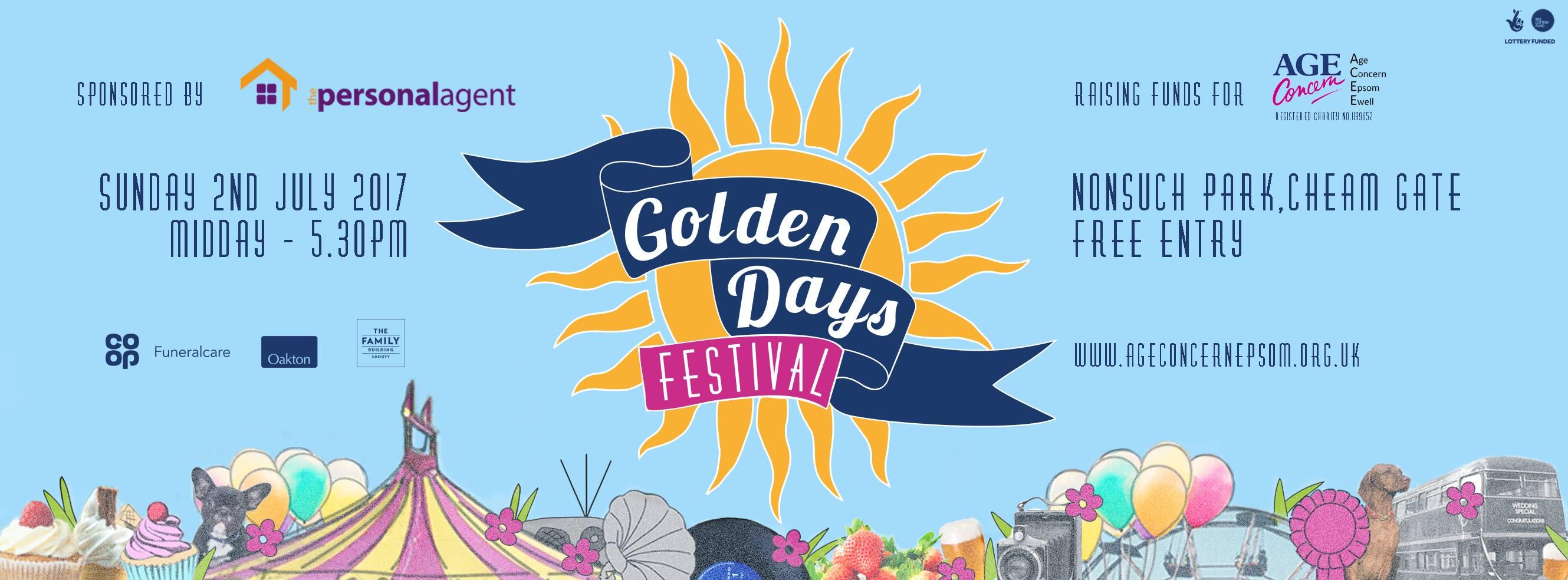 Goldendays Festival banner