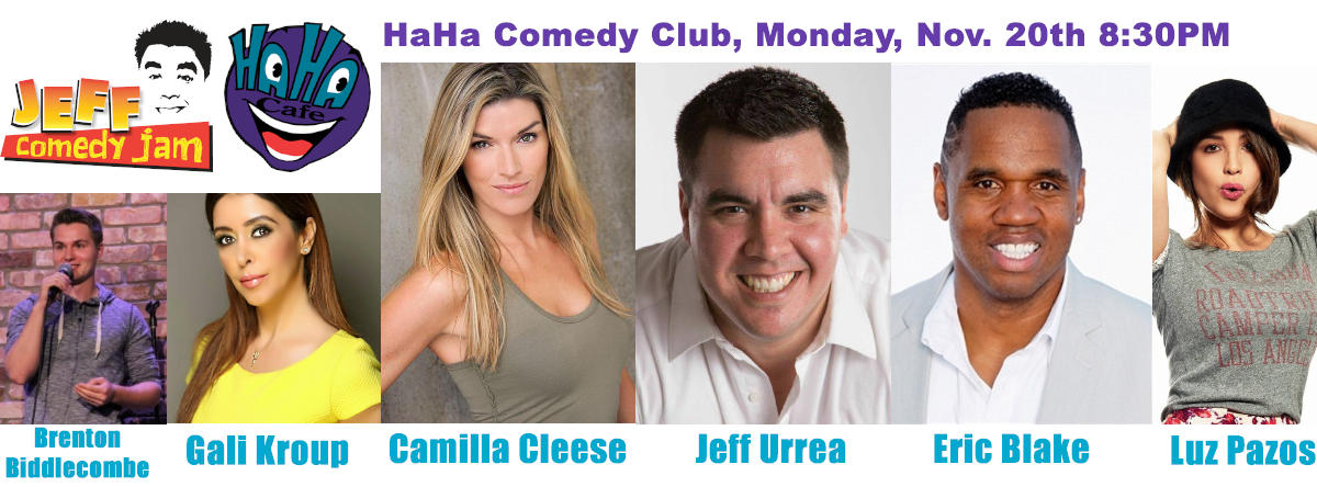 Jeff Comedy Jam, HaHa Comedy Club Debut