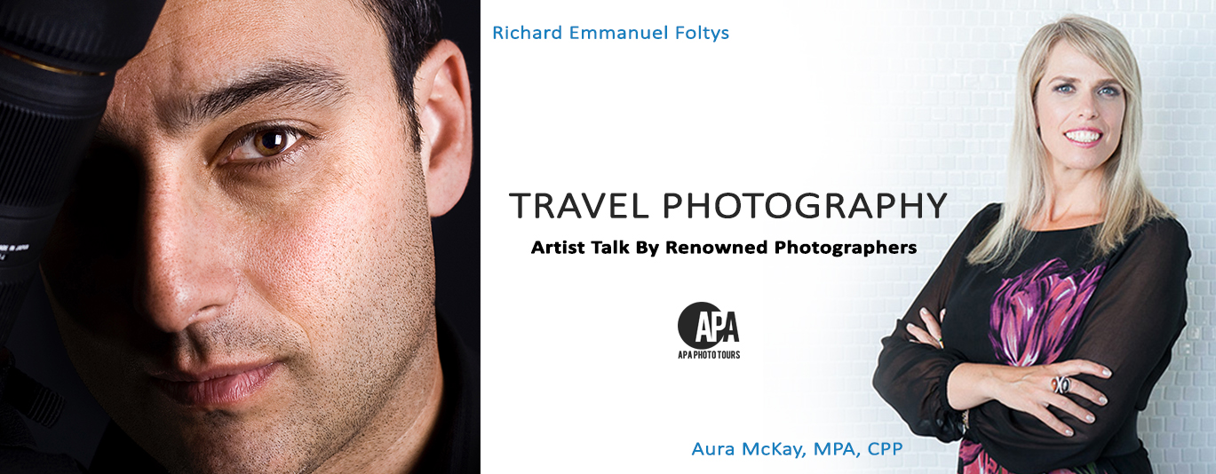 Travel Photography Artist Talk with Richard Emmanuel and Aura McKay