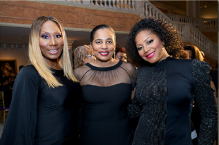 The Braxton Sisters with Dr. Washington