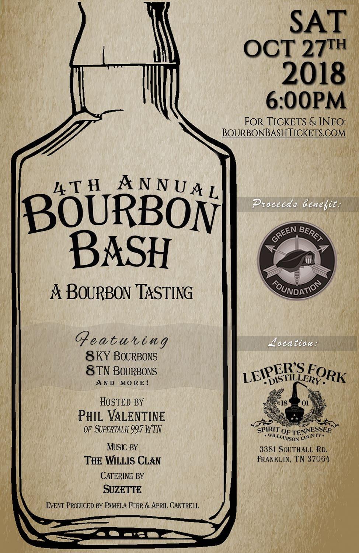 4th Annual Bourbon Bash
