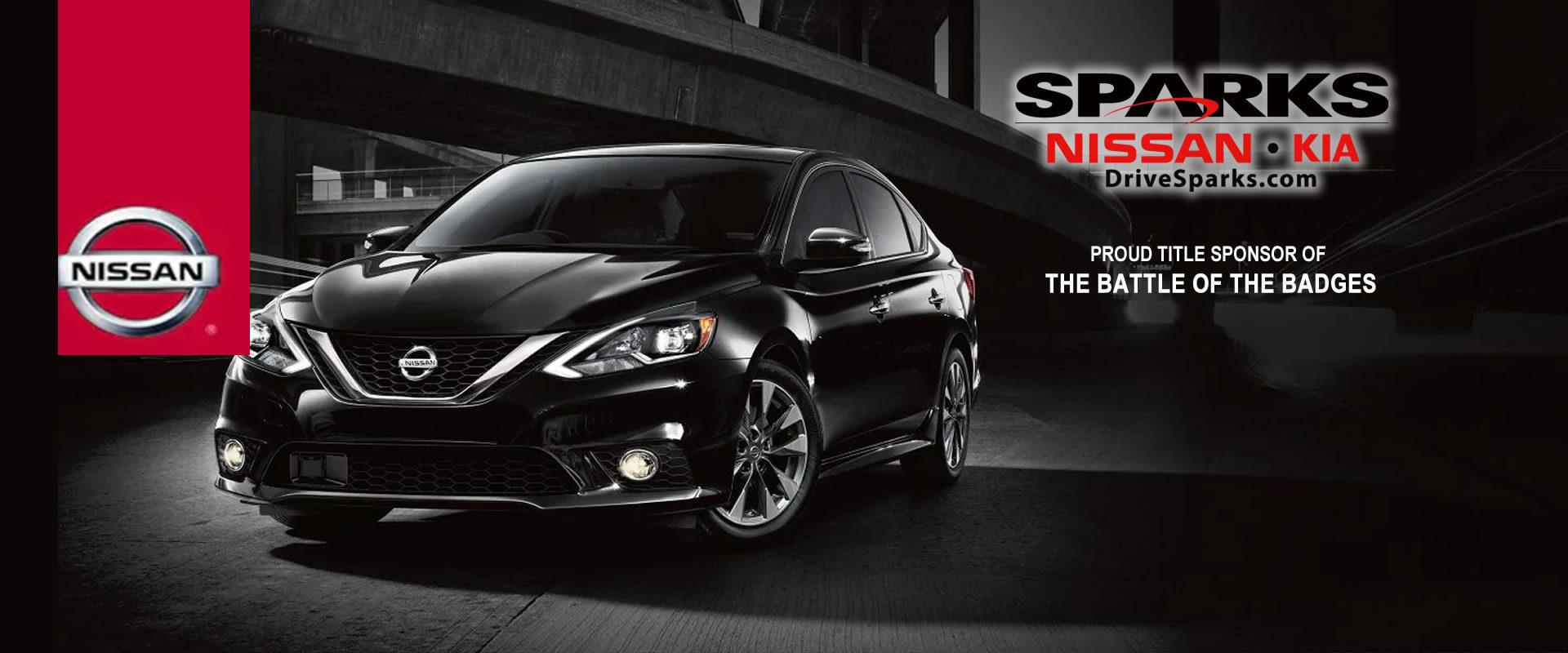 Nissan Sparks Title Sponsor