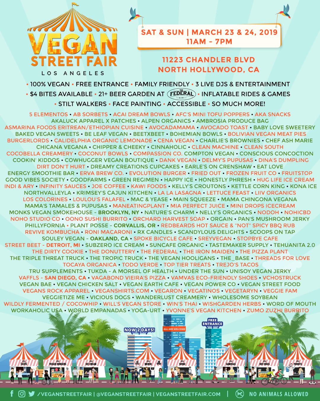 Vegan Street Fair 2019