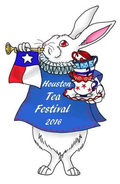 White Rabbit Houston Tea Festival Logo