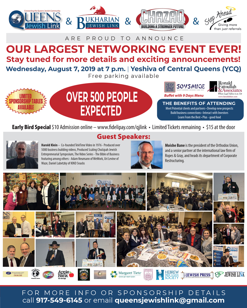 QJL Networking Event -August 7-2019