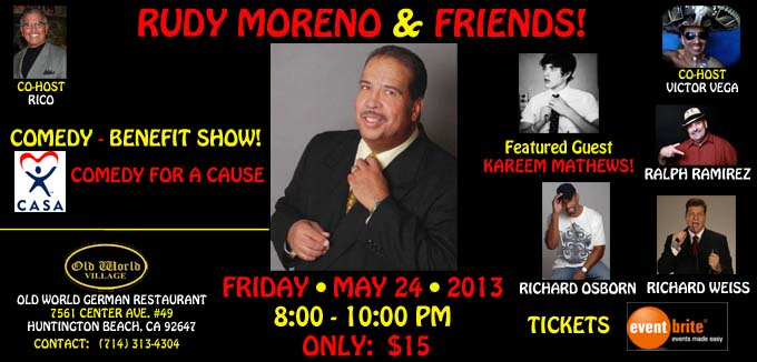 RUDY MORENO AND FRIENDS!