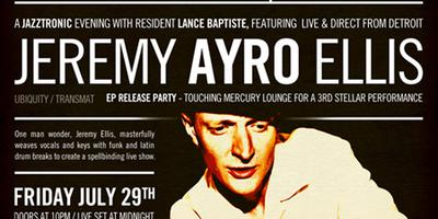 Jeremy Ayro Ellis - EP Release Party - Ubiquity Records /...