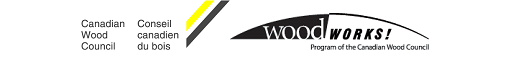 Wood Works and Canadian Wood Council logo