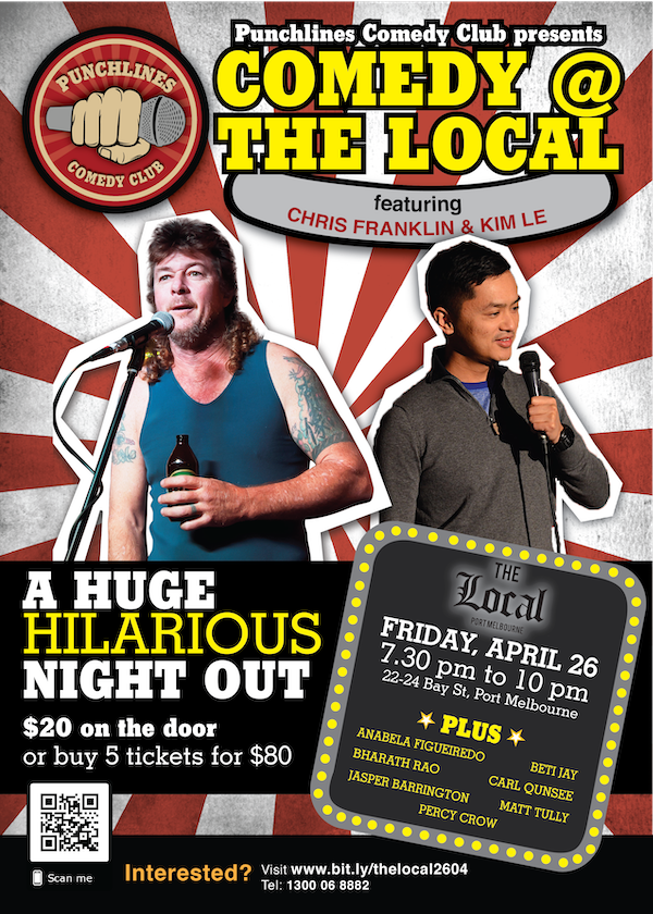 Punchlines Comedy Club - Chris Franklin and Le Ton