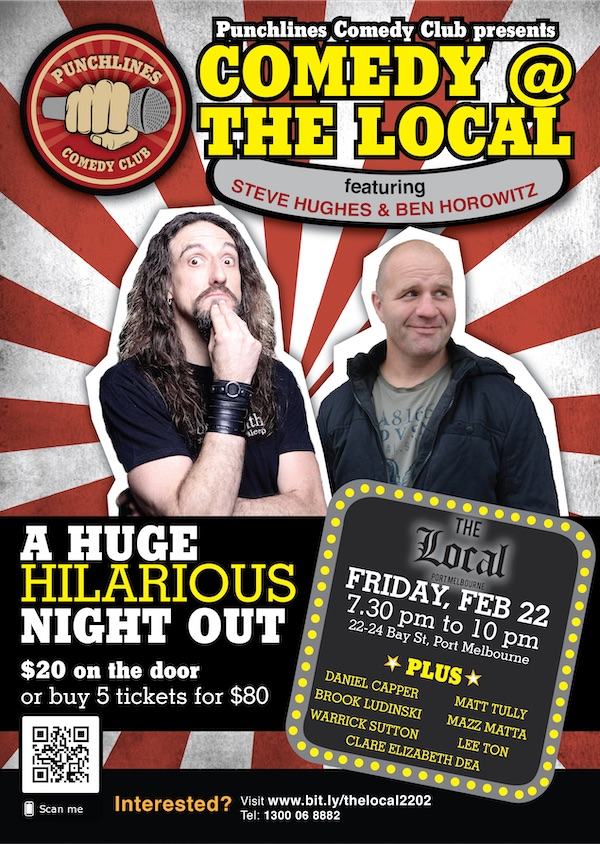 Punchlines Comedy Club - The Local - February - 2019
