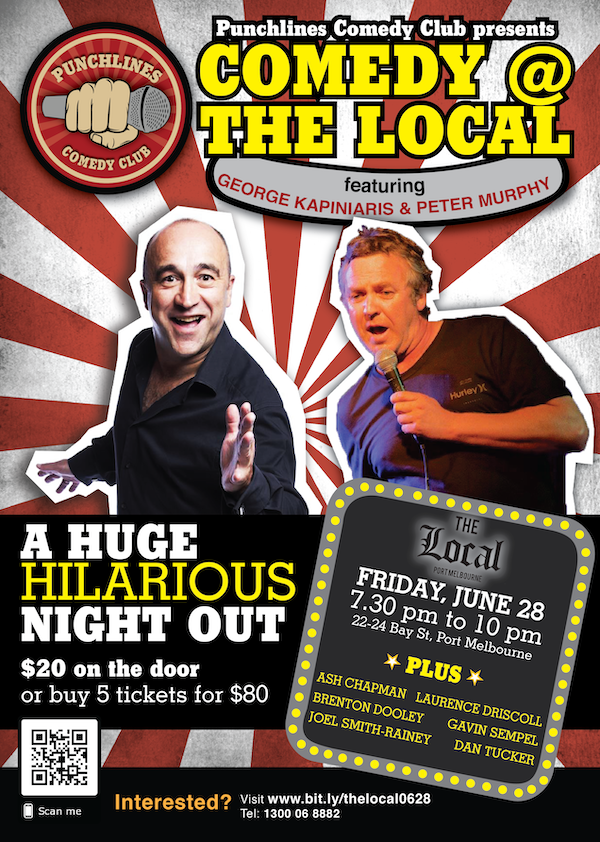 Punchlines Comedy Club Melbourne