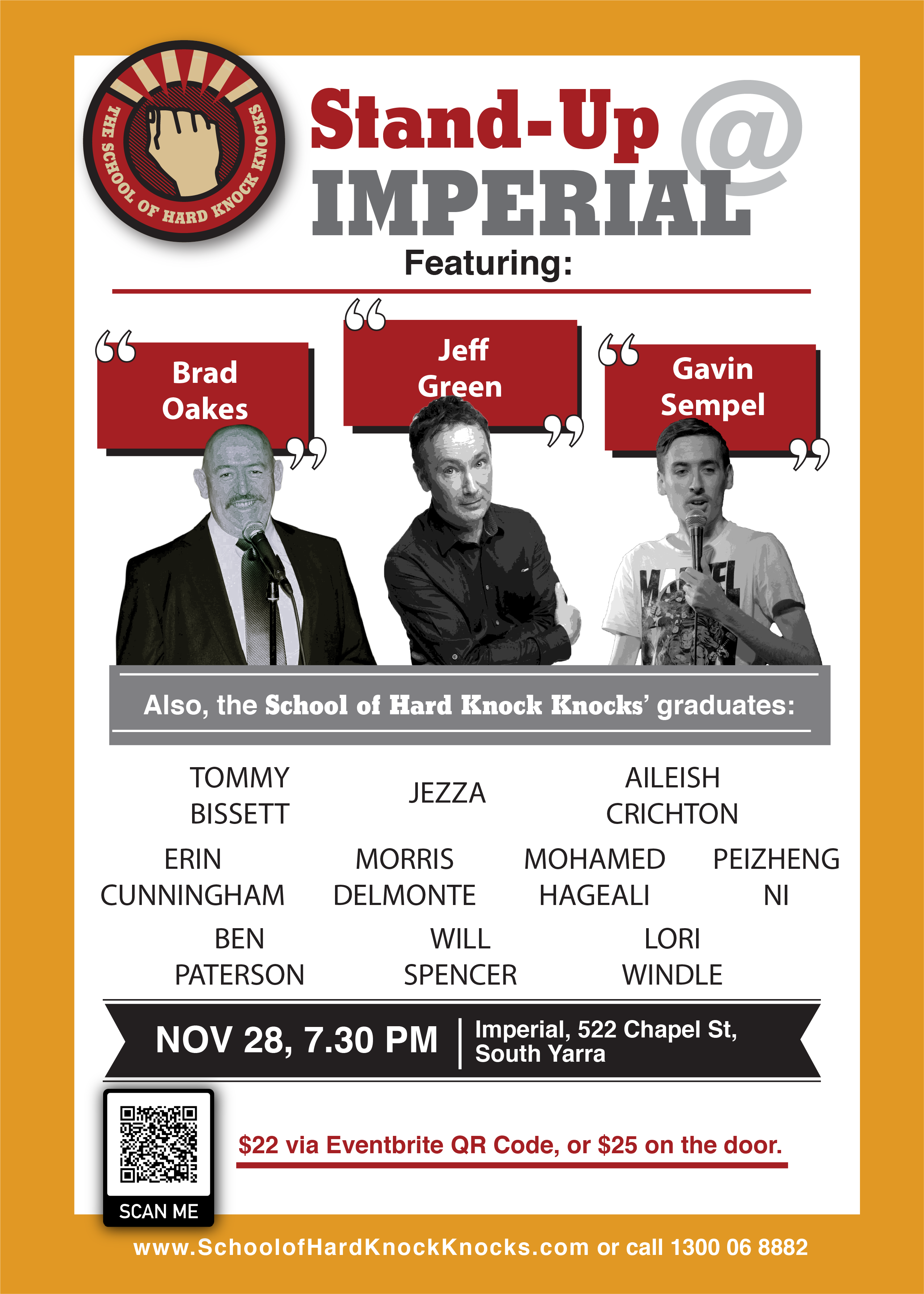 Stand-up comedy at Imperial