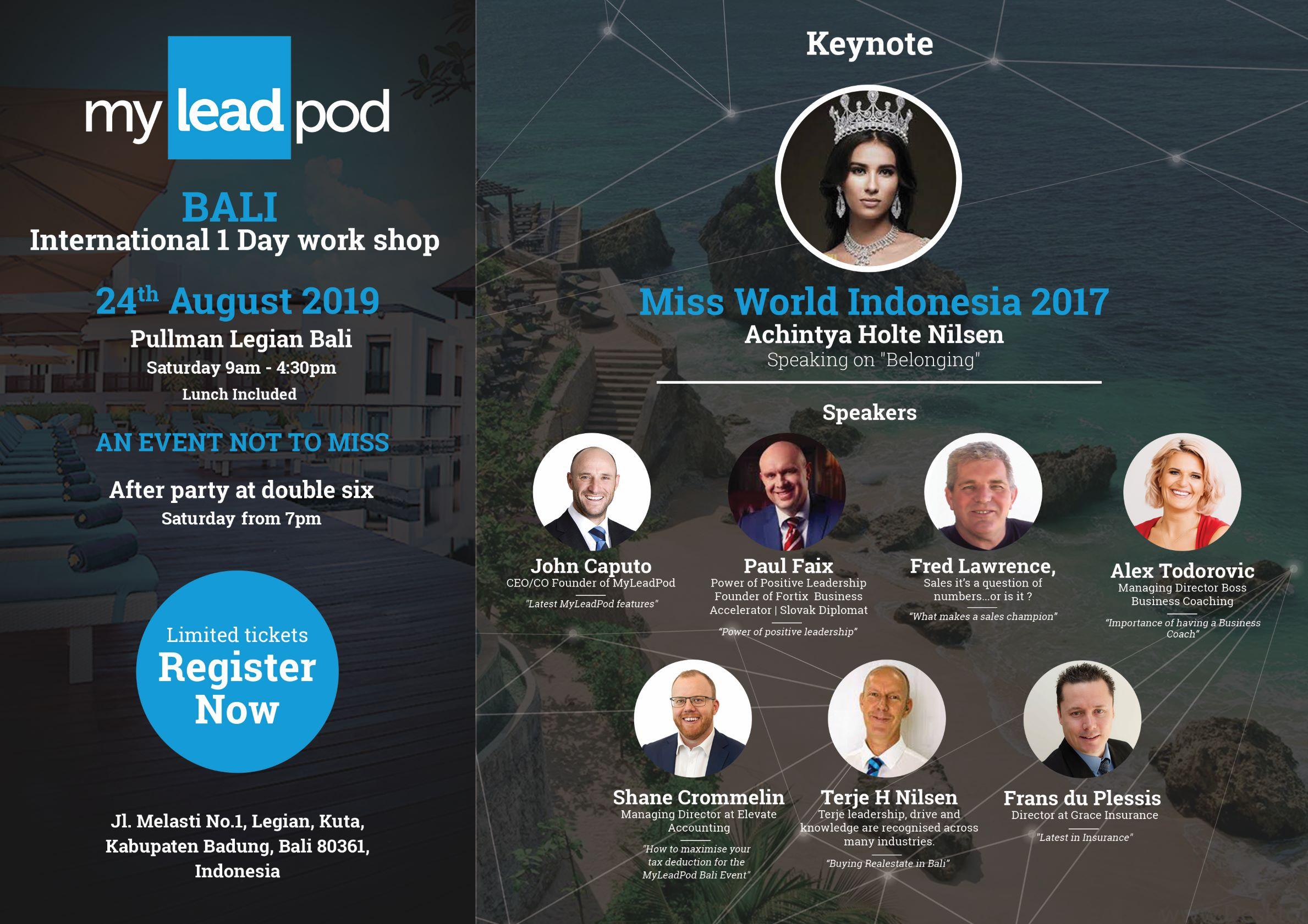 Bali Invite
