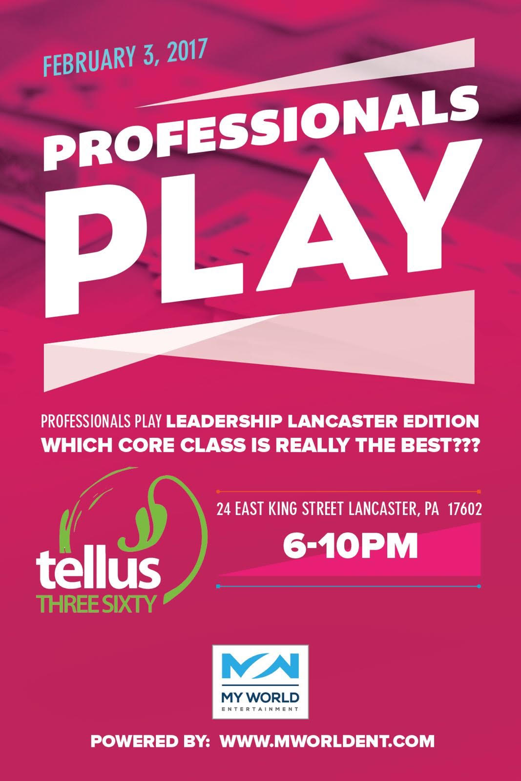 professionals play lancaster
