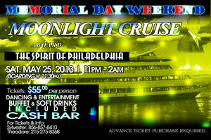 The Spirit of Philadelphia Memorial Day Moonlight Cruise