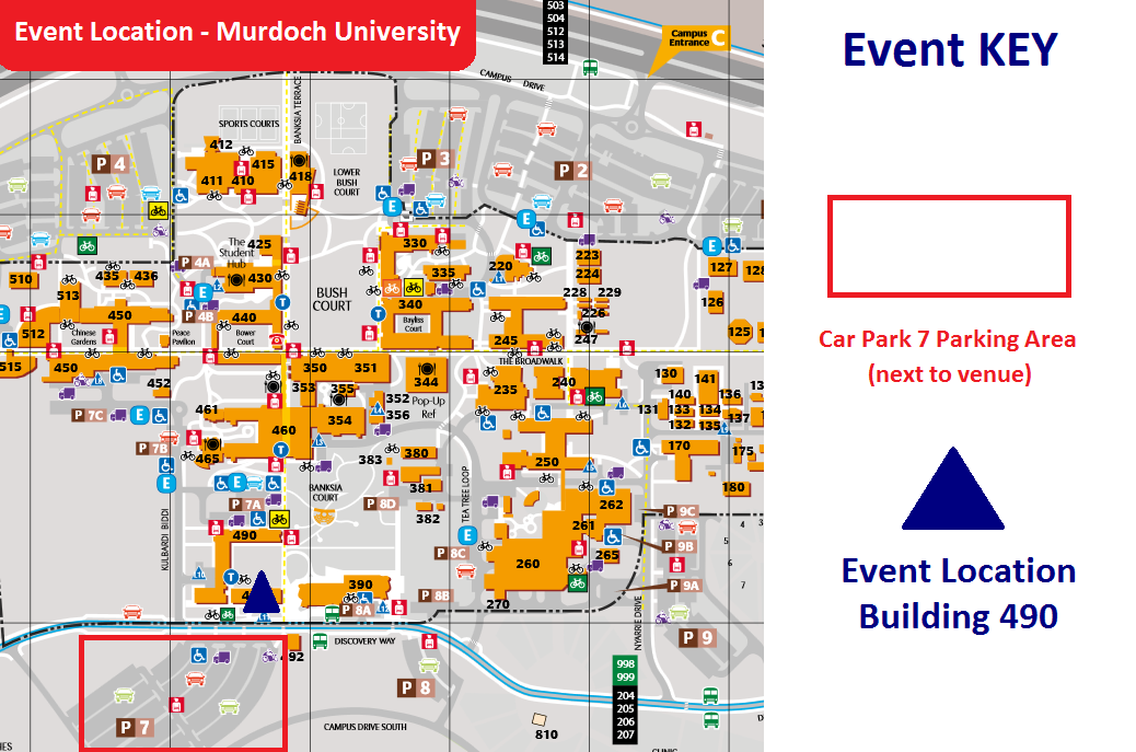 Murdoch University Map PRACTICUM MASTERCLASS   South Metropolitan Region   18 APR 2019