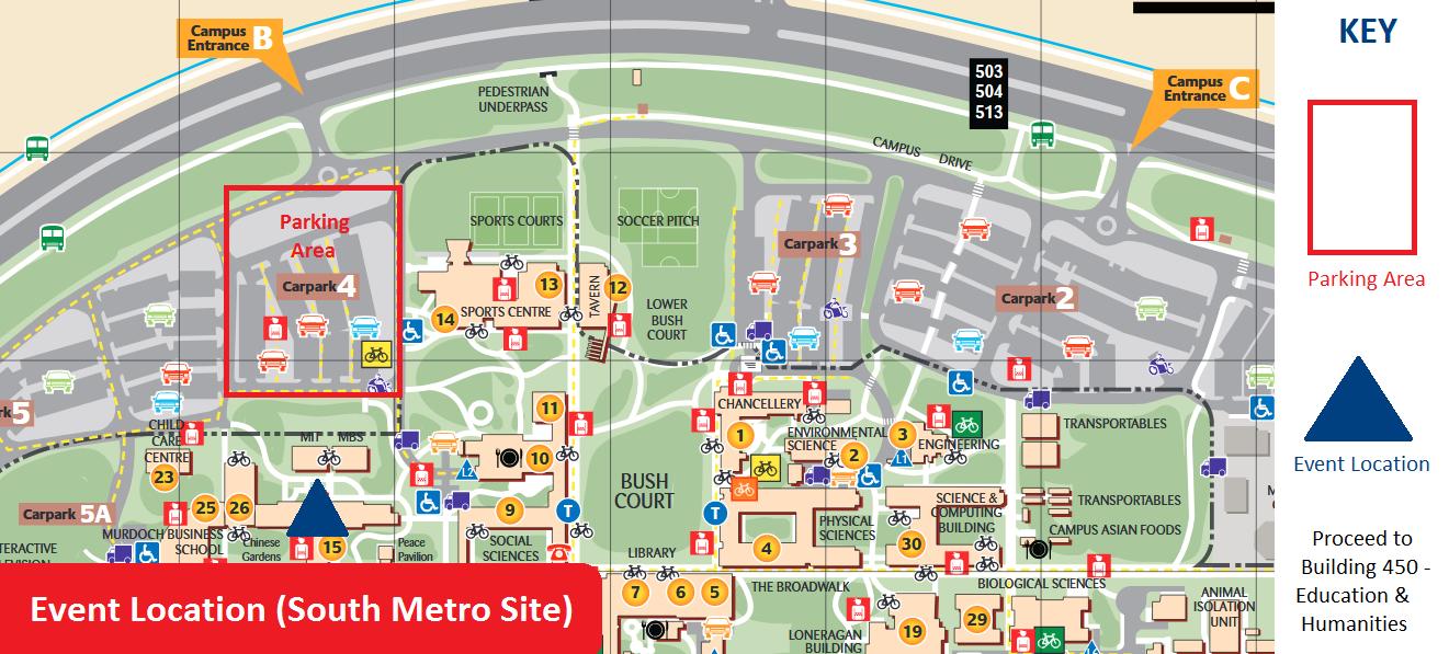 Murdoch University Car Park