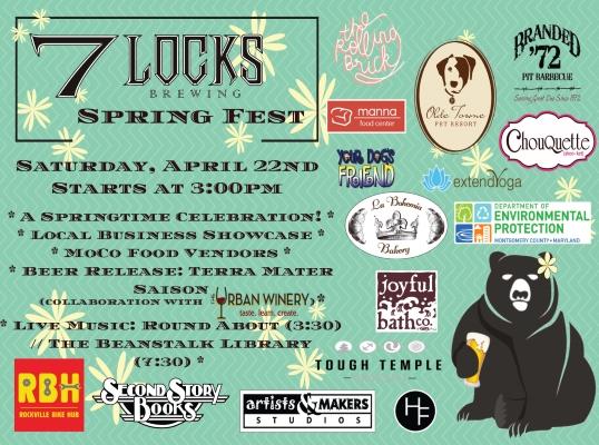 Spring Fest 2017 poster