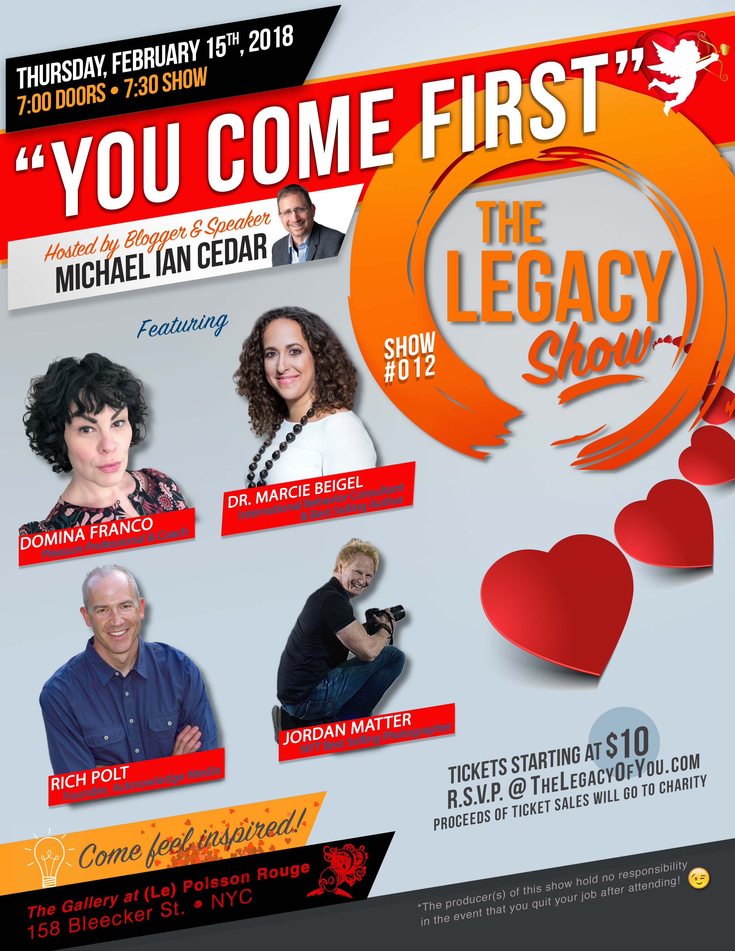 The Legacy Show - You Come First