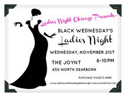 Black Wednesday's Ladies Night!