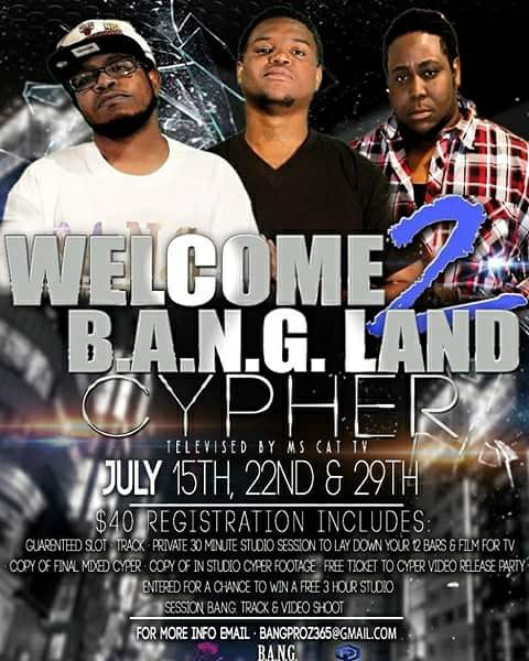 Welcome 2 B.A.N.G. Land Cypher