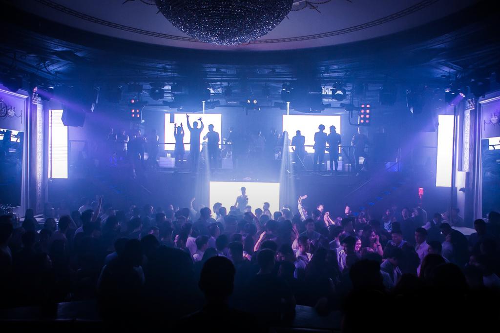 Club show NYC Laser lights
