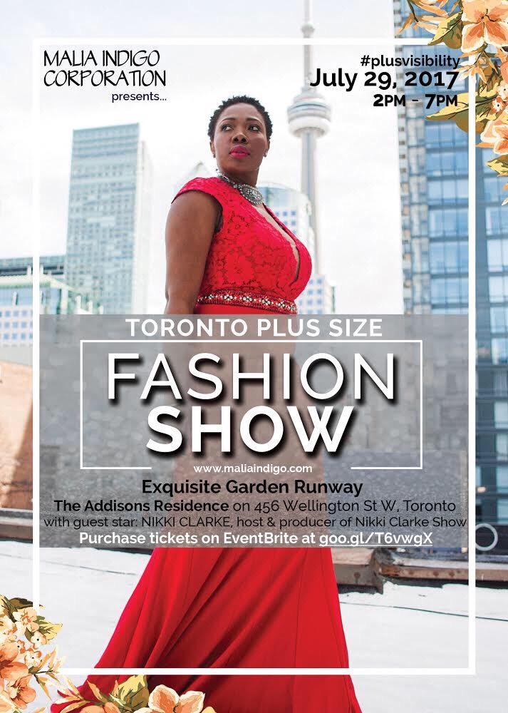 Toronto Plus Size Fashion Show
