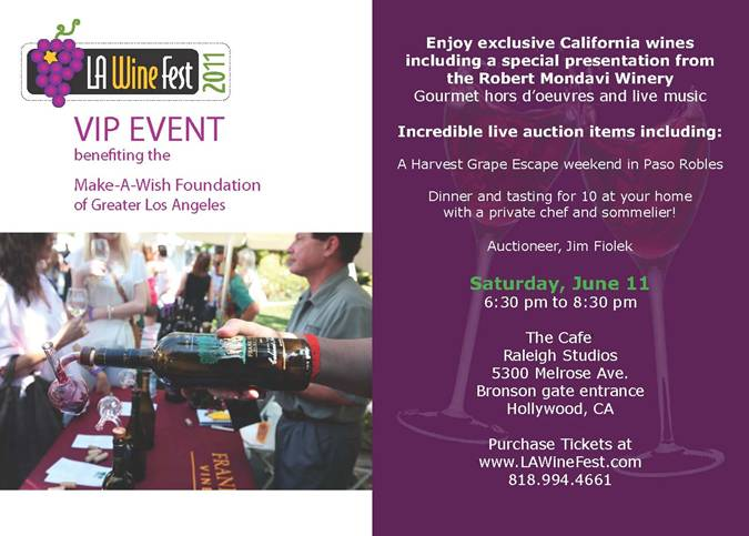 LAWF VIP Event