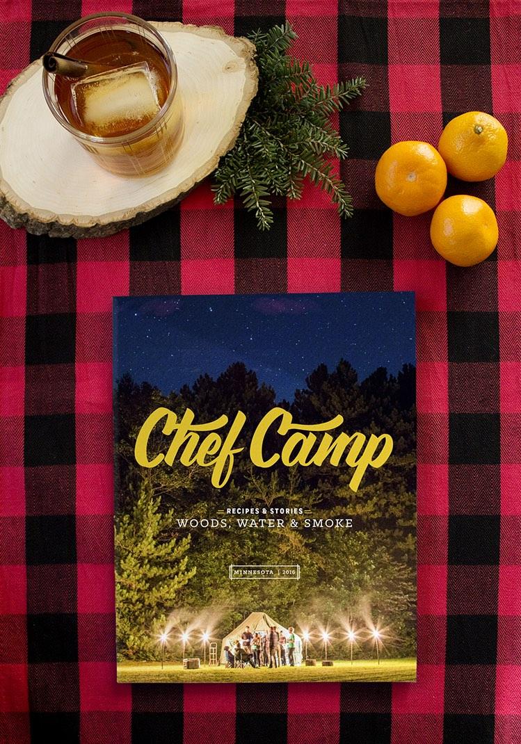 Chef Camp recipe book