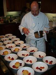 Chef Peter Jackson platind desserts