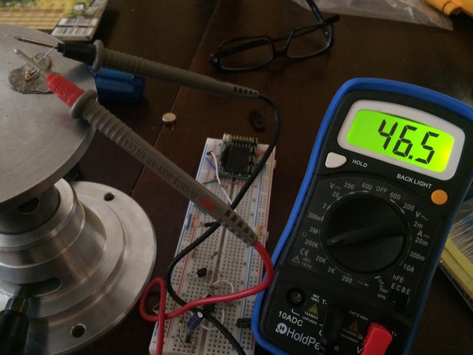 Multimeter, performing resistance measurement