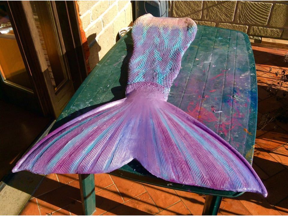 Picture of the mermaid tail