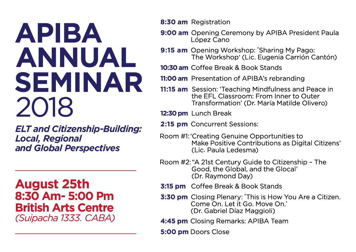 APIBA Annual Seminar Programme