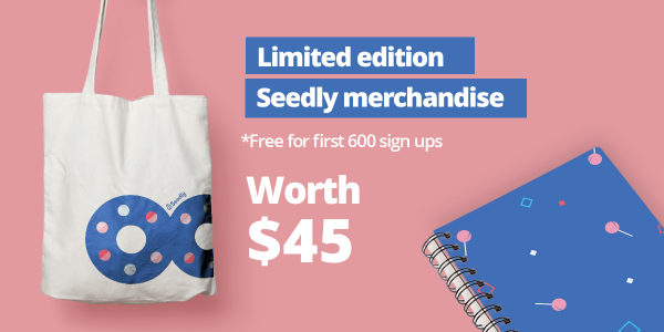 Seedly Merchandise Personal Finance Festival 2019