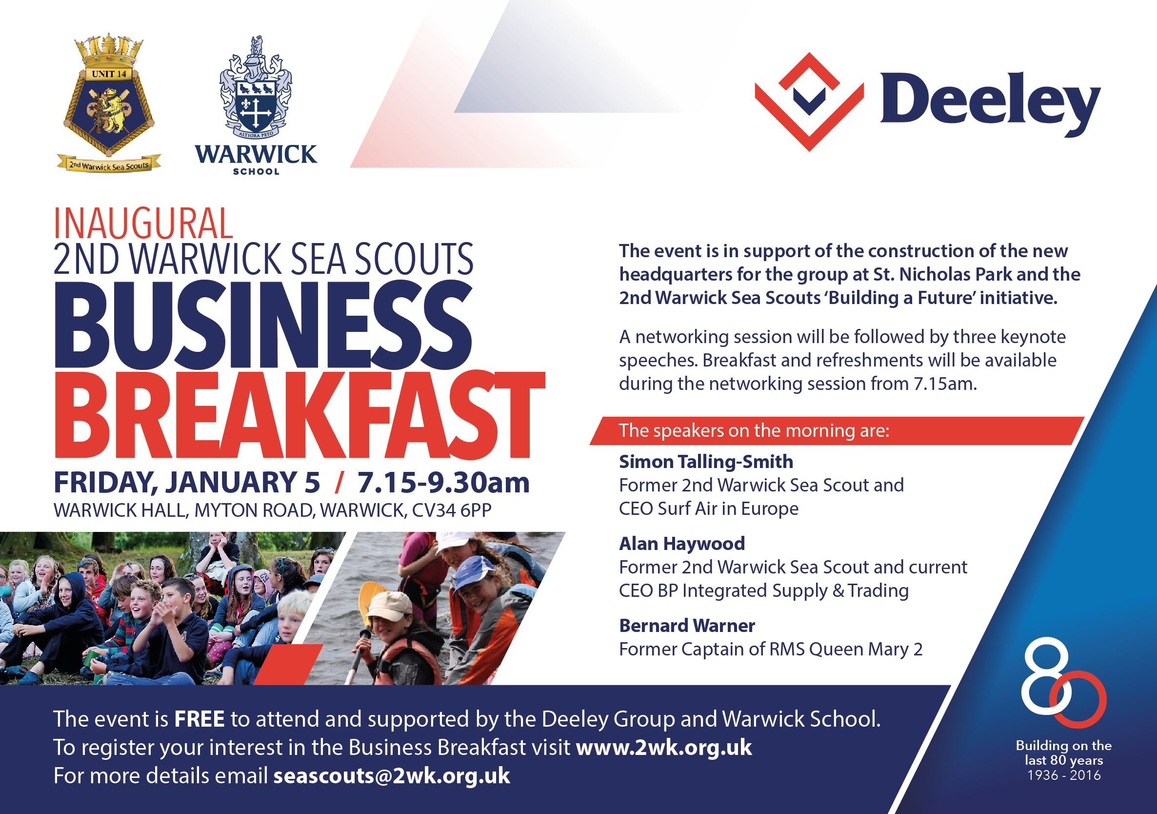 Business Breakfast Invite
