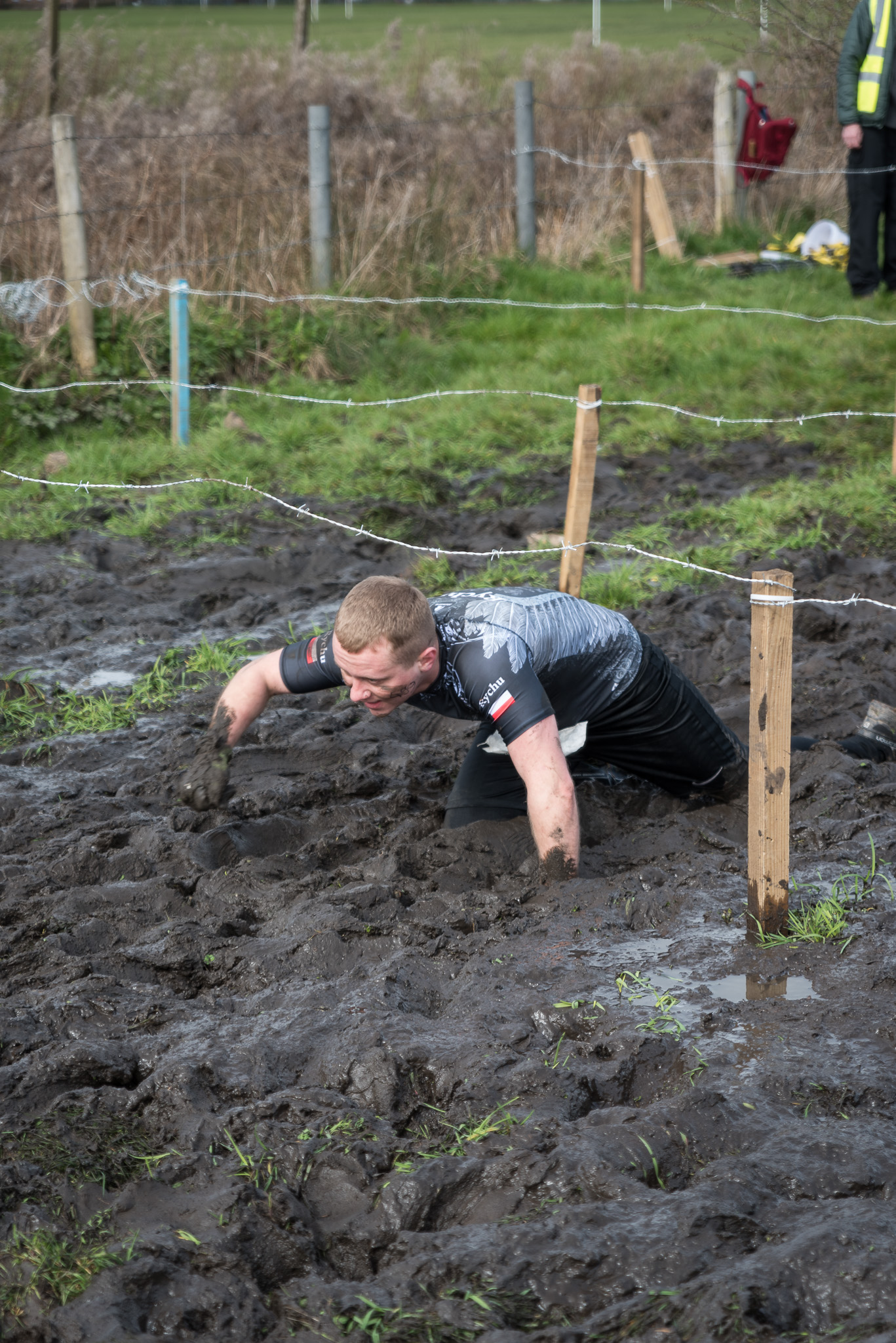 Mud Crawl Obstacle