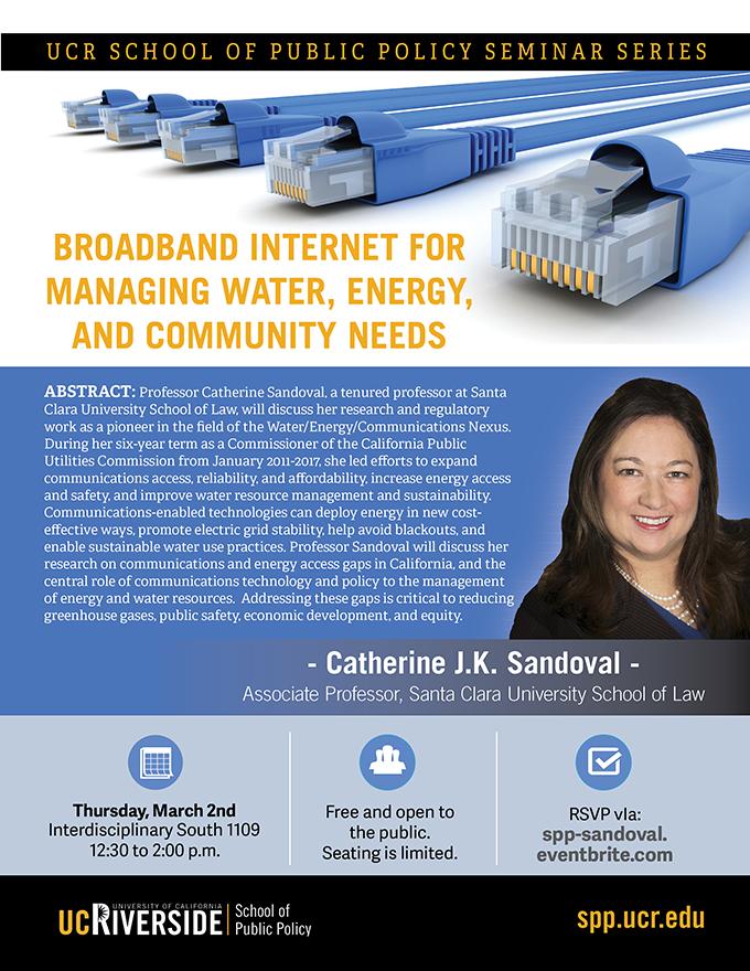 Catherine Sandoval Seminar