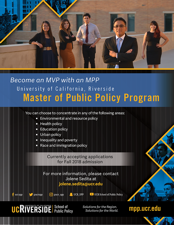 UCR MPP Program