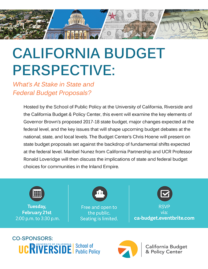 California Budget Perspective