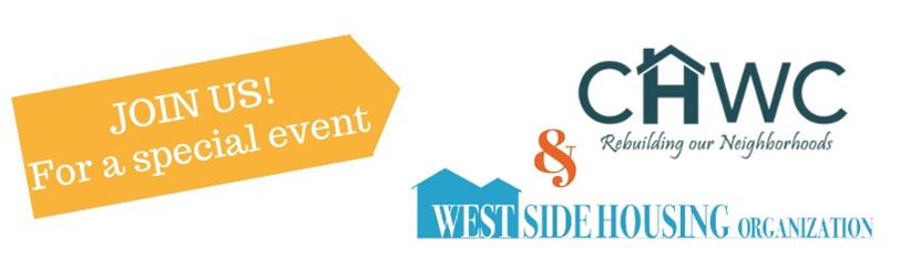 CHWC & Westside Housing logos