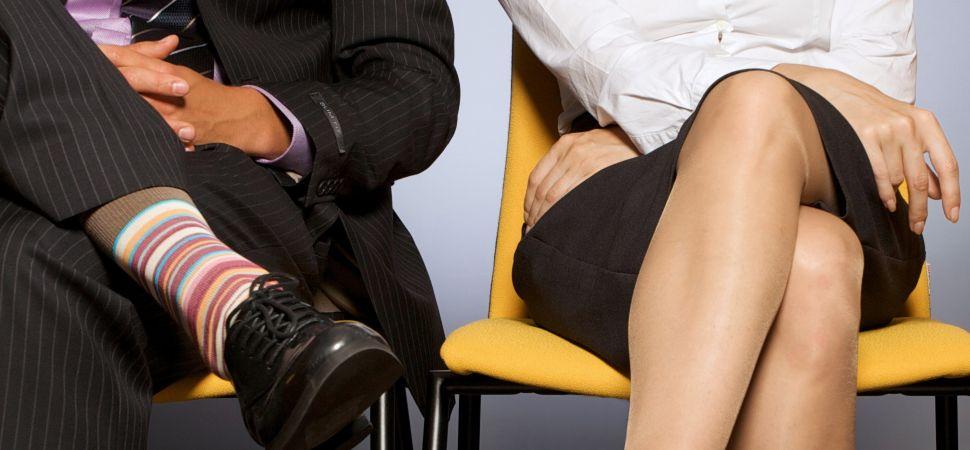 male and female body language