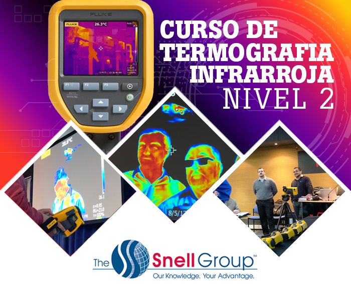 Curso de Termografía Nivel II - Snell Group 2019