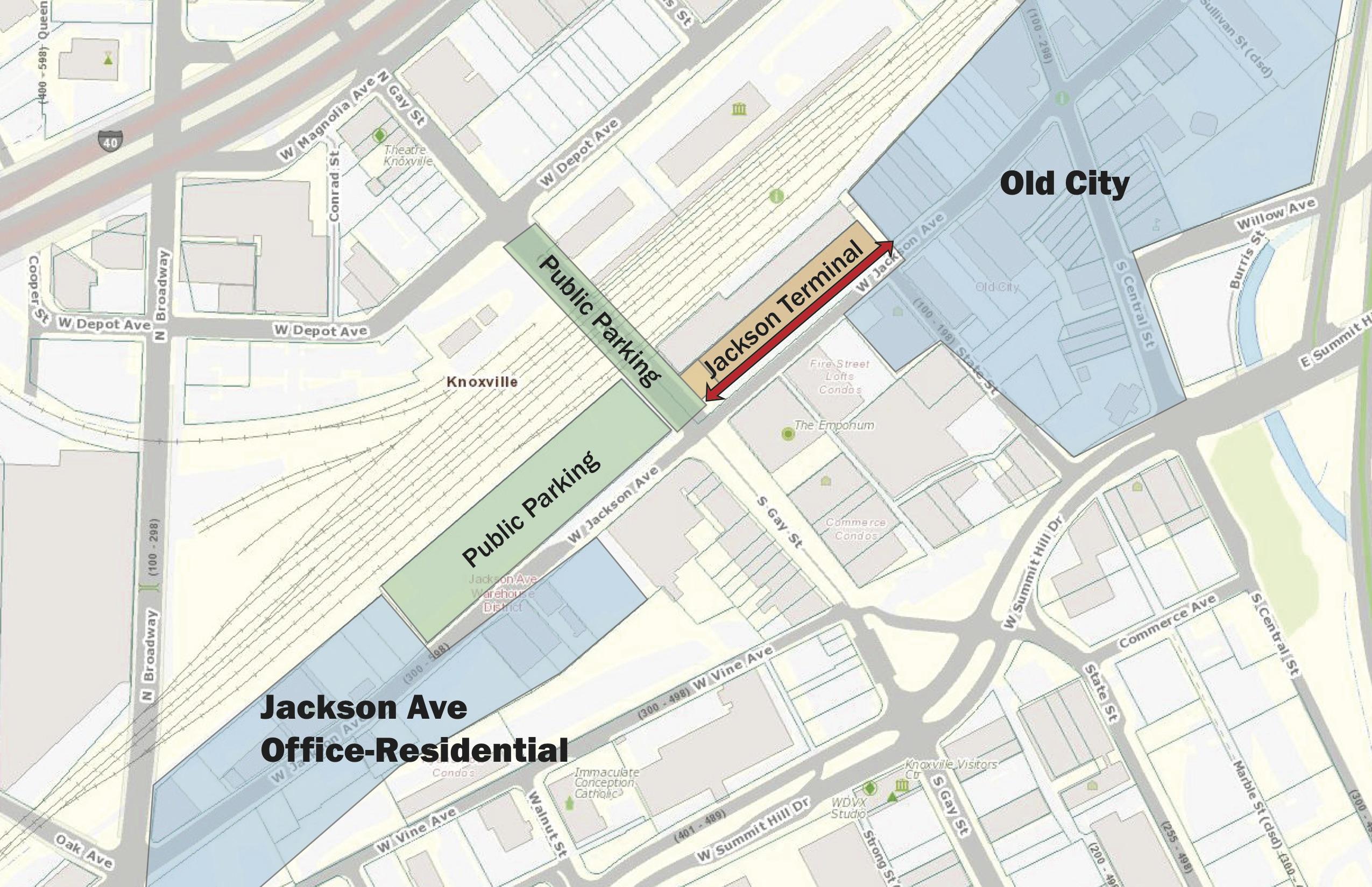 Jackson Terminal Parking
