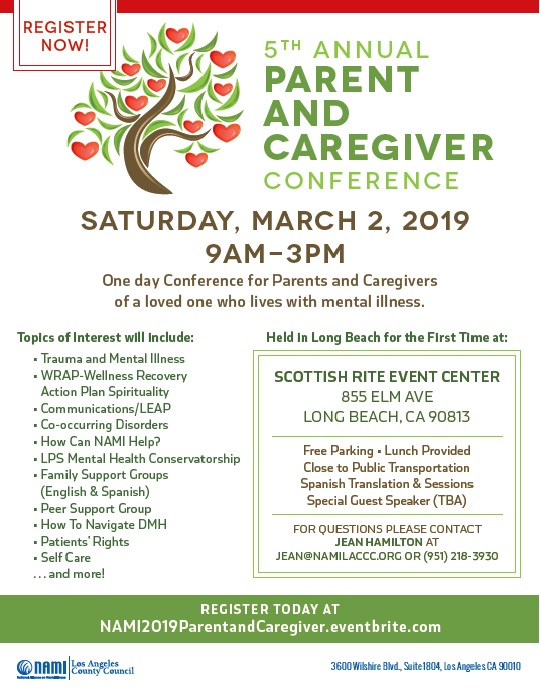 Parent And Caregiver Conference Tickets Sat Mar 2 2019 At 9 00 Am